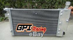 50mm PEUGEOT 106 GTI&RALLYE/CITROEN SAXO/VTR VTS 1991-2001 aluminum radiator