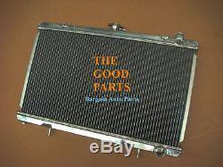 52MM ALLOY ALUMINUM RADIATOR For NISSAN SILVIA S13 CA18DET CA18 MT MANUAL