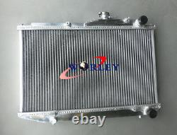 52mm Aluminum Radiator For TOYOTA COROLLA AE86 1.6L I4 MT 1983-1987 1984 1985 86