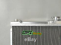 52mm Aluminum radiator for Mazda Miata MX5 MX-5 1998-2005 1999 00 01 02 03 04 MT