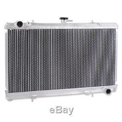 55mm ALUMINIUM ALLOY ENGINE RADIATOR RAD FOR NISSAN 180SX S13 PS13 TURBO SR20DET