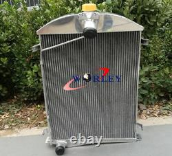 56MM 2 ROW ALUMINUM ALLOY RADIATOR FOR Ford Model A 1930 1931 30 31