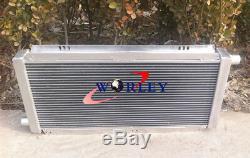56MM Aluminum Radiator +FANS LOTUS ELISE & EXIGE SERIES 1&2 VAUXHALL VX220 M/T