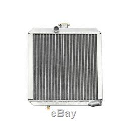 56MM Race Aluminum Radiator fits Land Rover Series 3 4CYL 2A Diesel/Petrol