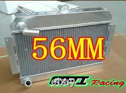 56mm Aluminum Alloy Radiator For Mgb Gt/roadster Top-fill 1968-1975 1969