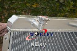 56mm Aluminum Alloy Radiator Mg Mga 1500/1600/1622/de-luxe Mt 1955-1962 61 60