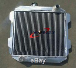 56mm Aluminum radiator for Ford Capri MK2 MK II 2600/2800 V6 1974-1977 MT 75 76