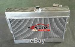 56mm aluminum Radiator for MGB GT/ROADSTER TOP-FILL 1968-1975 69 70 71 72 73 MT