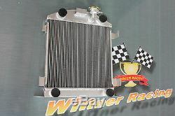 56mm aluminum alloy radiator Ford Lowboy chopped withflathead V8 engine 1932-1939