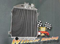 56mm side-fill aluminum alloy radiator for Ford model A Ford engine AT 1928-1929