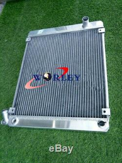 62MM aluminum radiator For Triumph Stag 3.0 V8 MK2 MT 1972-1977 1973 1974 75 76