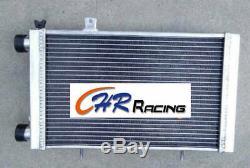 62MM for Lotus Europa Coupe S1 S2 TC 1.5 1.6 1966-1976 aluminum radiator + fan