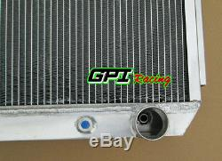 64MM 3 ROW For Chevy BEL AIR V8 1955-1957 55 56 57 Aluminum Alloy Radiator