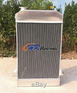 64mm 3 ROW ALUMINUM ALLOY RADIATOR TRIUMPH TR2/TR3/TR3A/TR3B MT