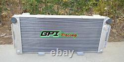 70mm Aluminum Alloy Radiator FOR FORD GT40 V8 1964-1969 1965 1966 Manual