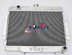 72-86 Jeep CJ, CJ5, CJ7 V8 Chevy Engine Aluminum alloy Radiator/Conversion