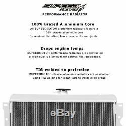 83-87 Toyota Corolla AE86 4AGE GTS Full Alloy Aluminum race Radiator
