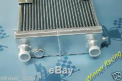 86mm Aluminum Radiator + Fan fit Lotus Europa 1.5L/1.6L 1966-1976 M/T
