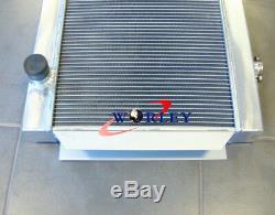 ALLOY ALUMINUM RADIATOR FOR holden HQ HJ HX HZ V8 chevy motor universal