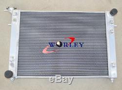 ALLOY ALUMINUM RADIATOR &Shroud&Fan Holden Commodore VN VG VP VR VS V6 3.8L 3ROW