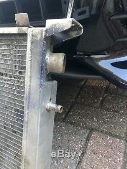 ALUMINIUM ALLOY RACE RADIATOR RAD FOR FORD ESCORT RS Turbo C/W Fan S1 S2