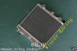 ALUMINUM RADIATOR FOR Nissan Pao 1989 1990 1991 HIGH FLOW ALLOY 40MM A/T