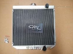 ALUMINUM RADIATOR + Fan FORD FALCON XR XT XW XY WINDSOR ENGINE 289 302 351 Auto