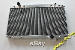 ALUMINUM RADIATOR Fits TOYOTA ARISTO JZS161 2JZ-GTE 3.0L TURBO AT 1997-2004