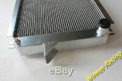 ALUMINUM RADIATOR For NISSAN PATROL STATION WAGON W160/HARDTOP K160 SD33 DIESEL