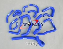 Alloy Aluminum Radiator & SILICONE HOSE FOR R33 R34 GT GTT GTR 1999-2000 A /MT