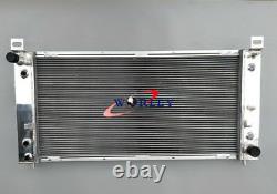 Alloy Aluminum radiator for Chevrolet Silverado 1500 2500 3500 4.8L 5.3L 6.0L V8