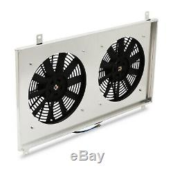 Alloy Engine Cooling Radiator Fan Shroud For Toyota Supra Mk4 Jza80 2jz 93-00