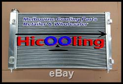 Alloy RADIATOR & FAN FOR Holden VZ Commodore GEN3 LS1 5.7L GEN4 LS2 6L V8 SS HSV