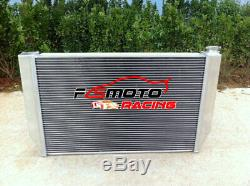 Alloy RADIATOR+Fans For Ford Falcon V8 6cyl XC XD XE XF FAIRLANE ZH/ZJ/ZK/ZL AT