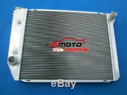 Alloy Radiator&Fans for FORD FALCON XA/XB/XC/XD/XE FAIRMONT CLEVELAND 302/351 V8