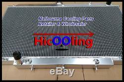 Alloy Radiator For NISSAN PATROL GU Y61 2.8L 3.0L RD28 ZD30 CR 99-13 AT MT