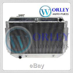 Alloy Radiator&Shroud&Fan HOLDEN HQ HJ HZ HX LH LX Kingswood Torana V8 253 308