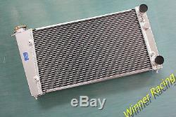 Alloy Radiator Vw Golf Mk1/caddy/ Scirocco Gti Spec 1.6 1.8 Heavy-duty Aluminum