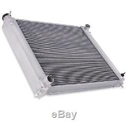 Aluminium Alloy Race Engine Radiator Rad For Nissan 300zx Z32 3.0 Bi Twin Turbo