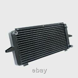 Aluminium Alloy Race Radiator Black For Ford Sierra Escort Rs Cosworth Rs500