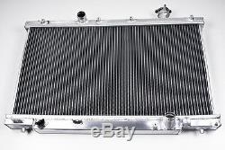 Aluminium Alloy Race Sport Radiator Rad For Honda CIVIC Ep3 K20 2.0 Type R 00-05