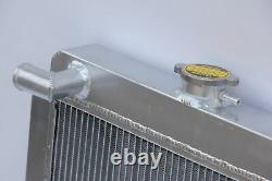 Aluminium Race Radiator For Ford Escort Rs2000 Mkii 2.0 Rs 1.6 Sport Pinto 42mm