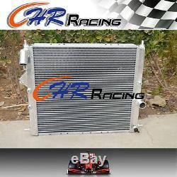 Aluminium radiator +fan Renault Clio 16S/Williams 1.8/2.0L 16V F7R engine 93-96