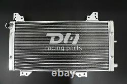 Aluminum 40MM Alloy Radiator For Ford Escort MK3 XR3i 1600 RS S1 Turbo 1980-1986