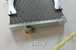Aluminum Alloy Radiator &14''12V Fan Triumph TR6 1969-1974/TR250 1967-1968