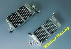Aluminum Alloy Radiator For Honda CR125R/CR250R A 2-stroke 1984 Braced