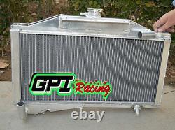 Aluminum Alloy Radiator For Morris Minor 1000 948/1098 M/t 1955-1971 56 57 58