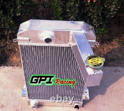 Aluminum Alloy Radiator For Triumph Tr2/tr3/tr3a/tr3b Mt