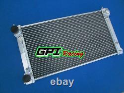 Aluminum Alloy Radiator For Vw Golf Mk1/2 Gti/scirocco 1.6 1.8 8v Mt