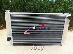 Aluminum Alloy Radiator +SHROUD +FANS FOR Ford Falcon V8 6cyl XC XD XE XF